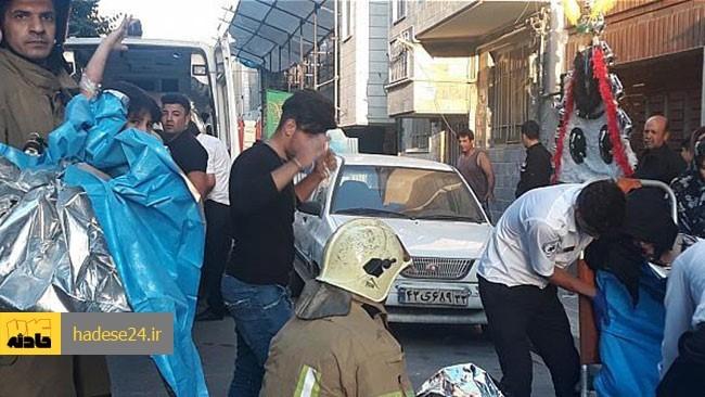 رعایت نکردن اصول ایمنی هنگام پخت و پز غذای نذری، انفجار و مصدومیت 6 نفر را در محله فلاح به همراه داشت.